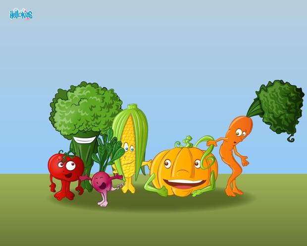 Réunion de légumes
