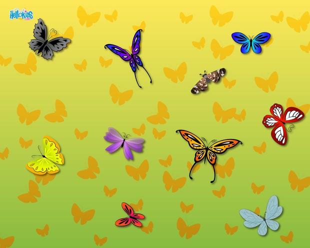 Comment Dessiner Papillons Fr Hellokids Com