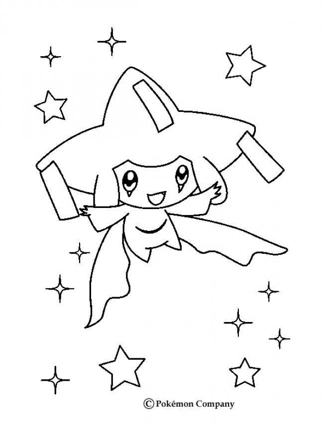 comment dessiner jirachi