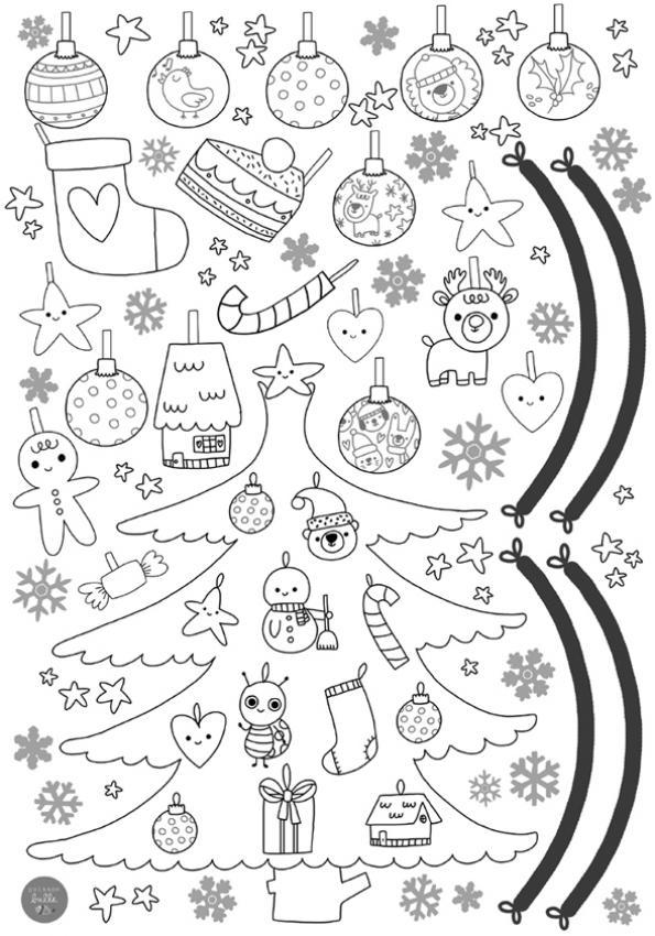 Petit dessin de noel a imprimer 15 coloriage petit ourson de no l imprimer dans les - Coloriage de noel a imprimer ...