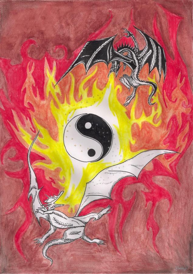 Comment dessiner le dragon de fanny - Dessiner des dragons ...
