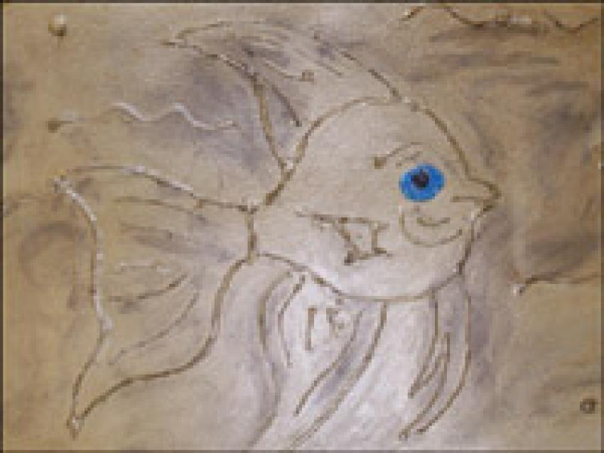 le-poisson-en-relief