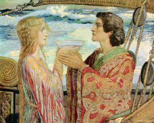 Contes pour enfants histoires d 39 amour c l bres lire fr - Tristan le chevalier de la table ronde ...