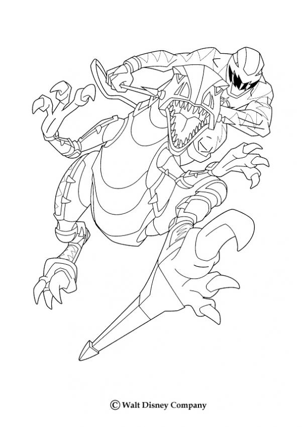 Coloriages robot dinosaure - Power rangers gratuit ...