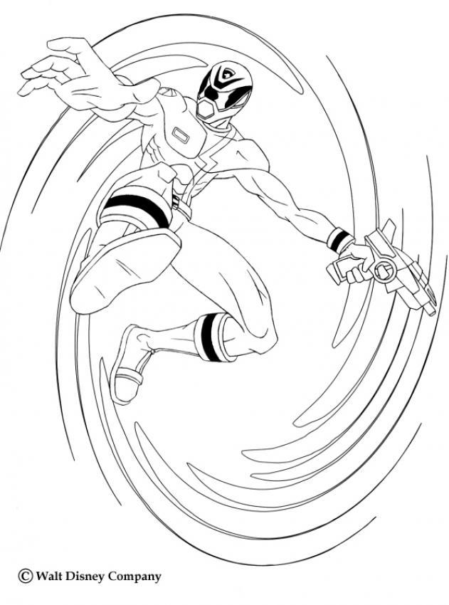 Coloriages le tourbillon du ninja - Power rangers coloriage ...