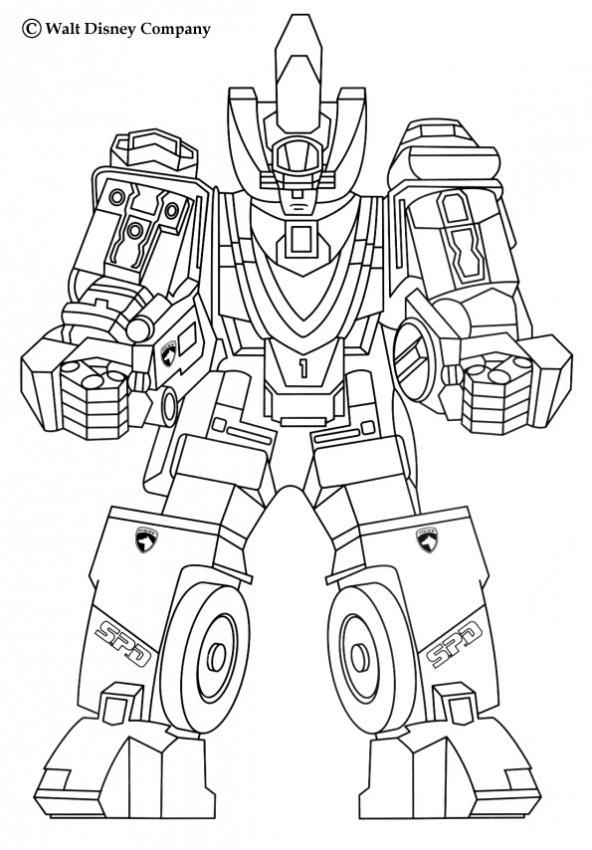 dessin de robot