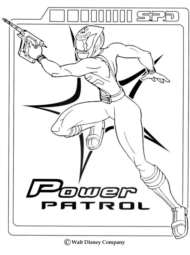 Coloriages ranger fille - Dessin power rangers ...