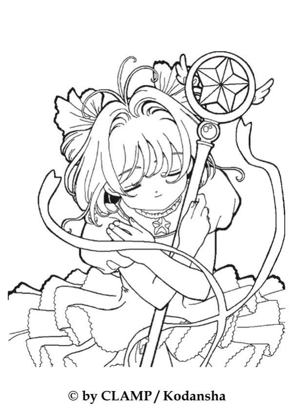 Dibujos para colorear de Sakura