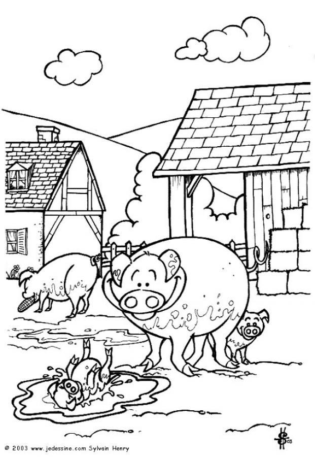 imprimer Coloriage Animaux De La Ferme Images ...