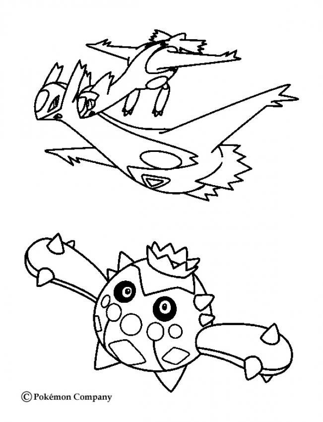 latios et autres pokemons