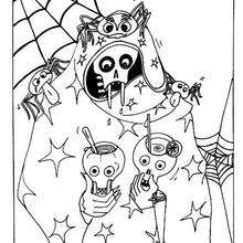 Coloriage Halloween 384 Coloriages D Halloween Gratuits A Imprimer
