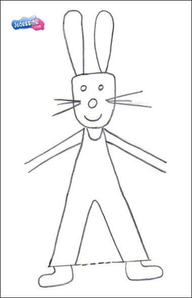 Extraordinaire Comment dessiner dessiner un lapin de pâques - fr.hellokids.com FM-22