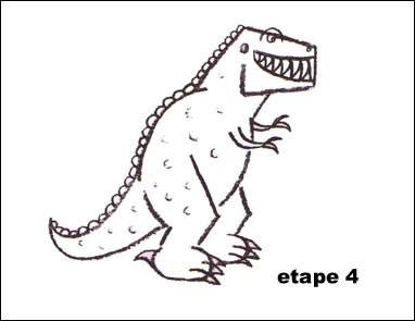 Dessin tyrannosaure a imprimer - Dessin de tyrannosaure ...