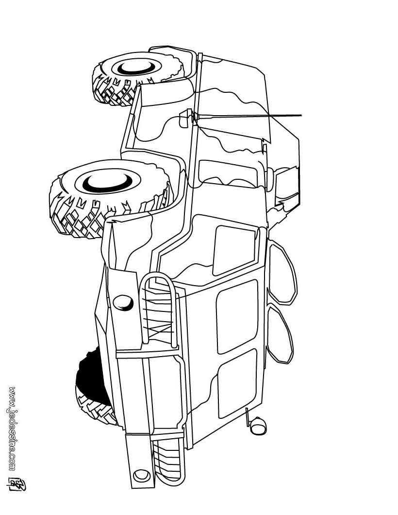 coloriage char. Black Bedroom Furniture Sets. Home Design Ideas