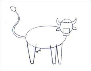 Comment Dessiner Une Vache Fr Hellokids Com