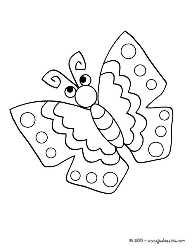 Coloriages Papillon A Imprimer Fr Hellokids Com