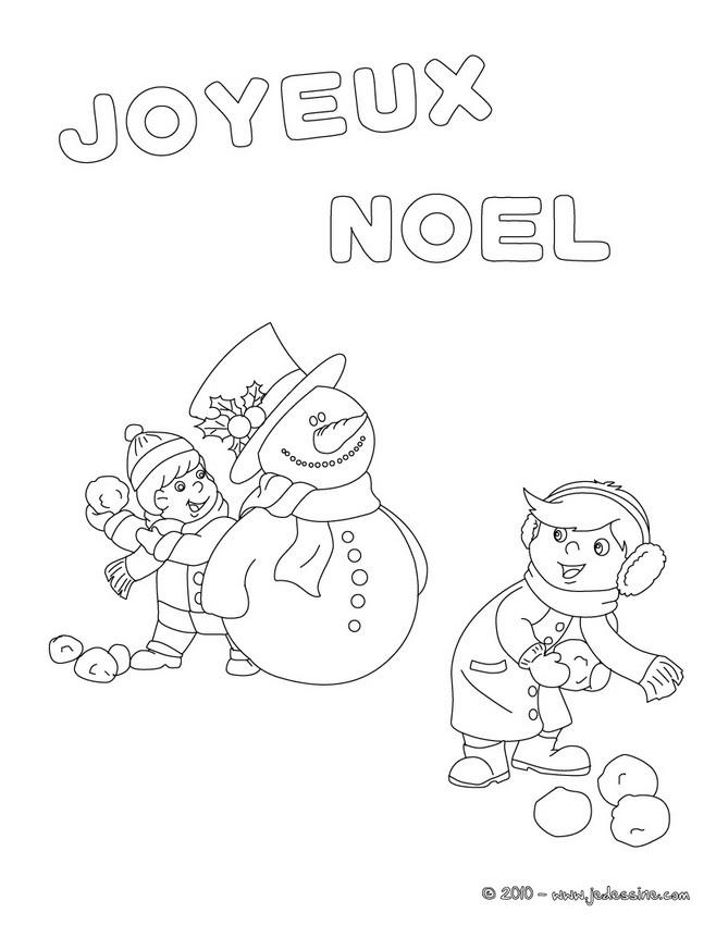 Joyeux Noel A Colorier 9 Coloriages De Noel