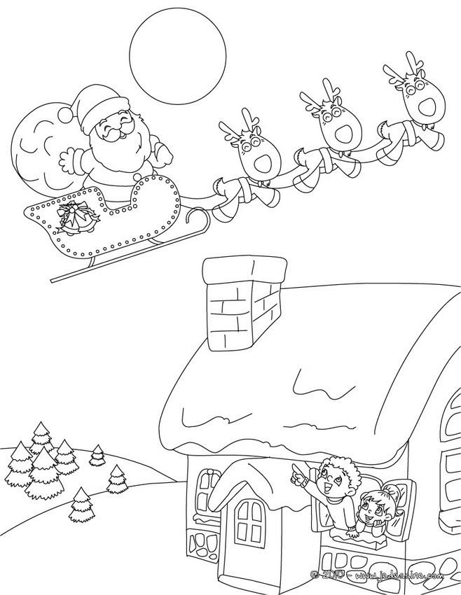 Traineau Coloriages Dessins Pour Les Enfants Lire Et Apprendre