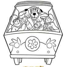 Coloriage De Scooby Doo Et Le Mystere De La Pyramide Coloriages