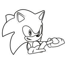 Coloriages Sonic Coloriages Coloriage A Imprimer Gratuit Fr