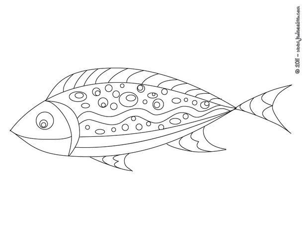 coloriage poisson d avril gratuit a imprimer