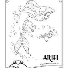Coloriage La Petite Sirene Coloriages Gratuits A Imprimer Sur