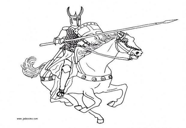Coloriages Dragons Et Chevaliers Fr Hellokids Com