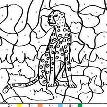 Coloriage Animaux Couleur Par Numero 46 Coloriages Magiques A