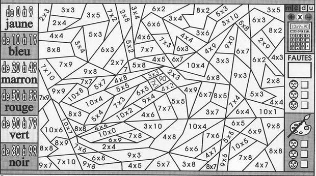 multiplication et plage de resultat
