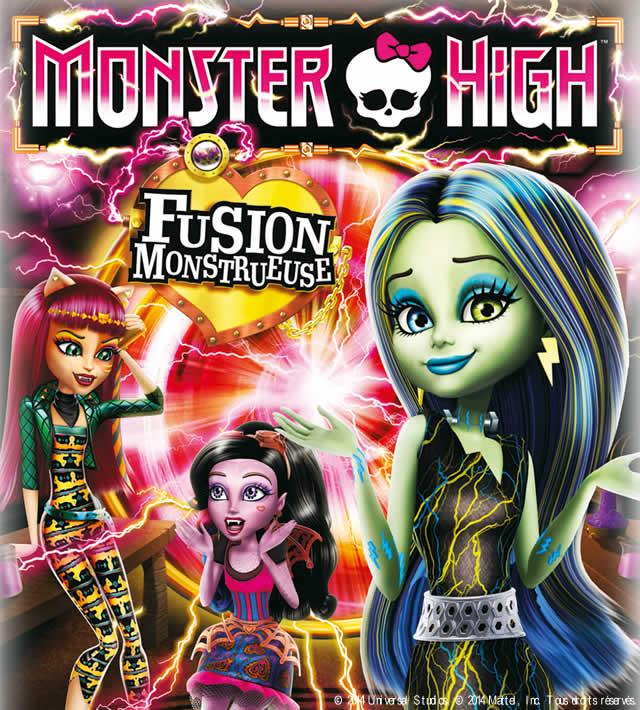 Monster High - Fusion Monstrueuse - Coloriages - Coloriage à imprimer gratuit - fr.hellokids.com