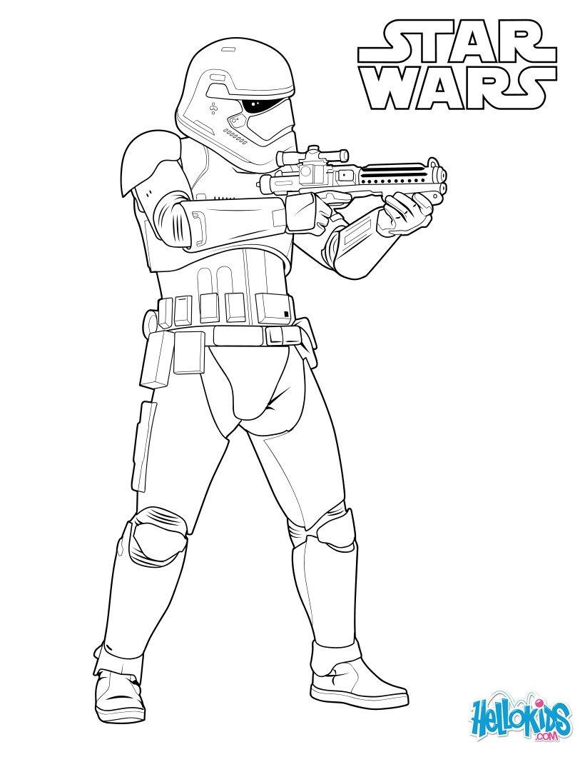 stormtrooper du premier ordre au bat