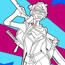 Coloriages Personnages De Jeux Video Fr Hellokids Com