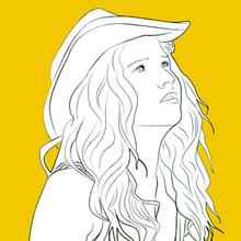 Coloriage Mia Et Le Lion Blanc Coloriages Coloriage A Imprimer