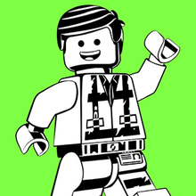 Coloriages Coloriage De Emmet La Grande Aventure Lego 2 Fr